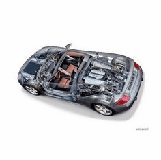Porsche Carrera Gt Cutaway 8x10 photo
