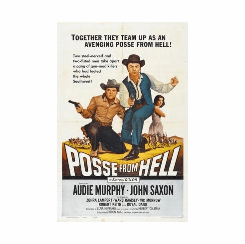 Posse From Hell Movie Poster 11x17 Mini Poster