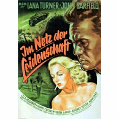 Postman Always Rings Twice Movie 11inx17in Mini Poster #01 German