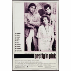 Pretty In Pink Movie Poster 11x17 Mini Poster