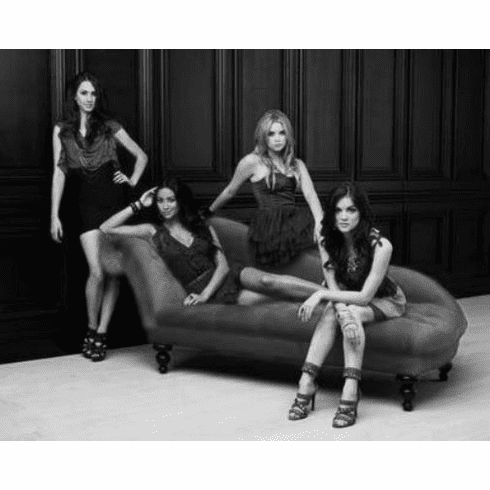 "Pretty Little Liars Black and White Poster 24""x36"""