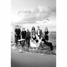 """Private Practice Black and White Poster 24""""x36"""""""