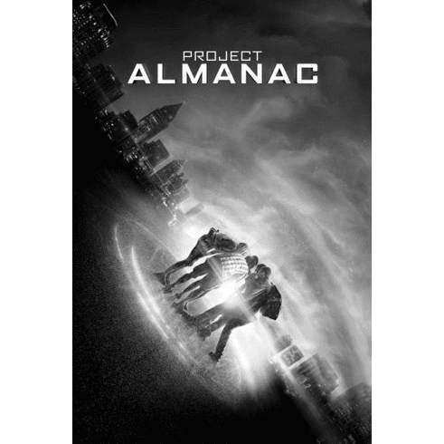 "Project Almanac Black and White Poster 24""x36"""