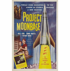 Project Moon Base Poster 11Inx17In Mini Poster