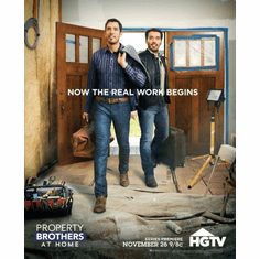 Property Brothers Poster 24in x36in