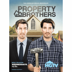 Property Brothers poster 24inx36in Poster