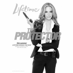 "Protector The Black and White Poster 24""x36"""