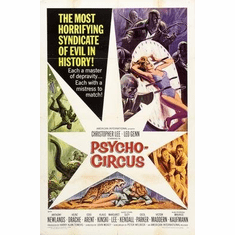 Psychocircus Movie Poster 11x17 Mini Poster
