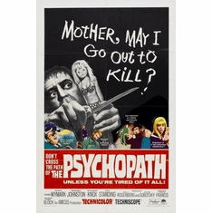 Psychopath The Movie Poster 11x17 Mini Poster