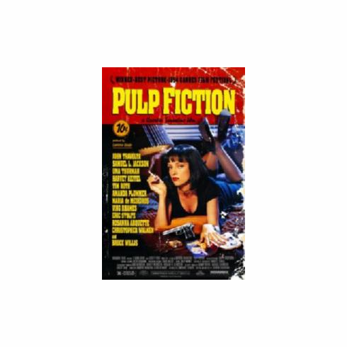 Pulp Fiction Movie Poster 11x17 Mini Poster