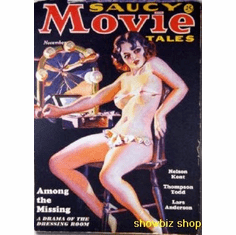 Pulp Novel Exploitation Art Saucy Movie Tales 8x10 photo