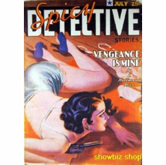 Pulp Novel Exploitation Art Spicy Detective 8x10 photo