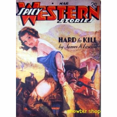 Pulp Novel Exploitation Art Spicy Western Storyes 8x10 photo