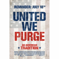 Purge Anarchy Movie Poster 11inx17in Mini Poster