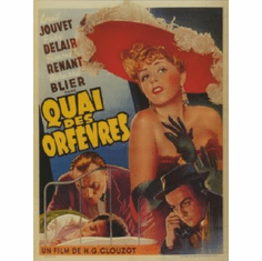 Quai Des Orfevres Movie 11inx17in Mini Poster #01
