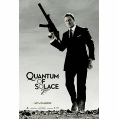 Quantum Of Solace Movie Poster 11x17 Mini Poster