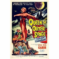 Queen Of Outer Space Mini Movie Poster 11x17