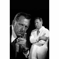 "Quincy Black and White Poster 24""x36"""