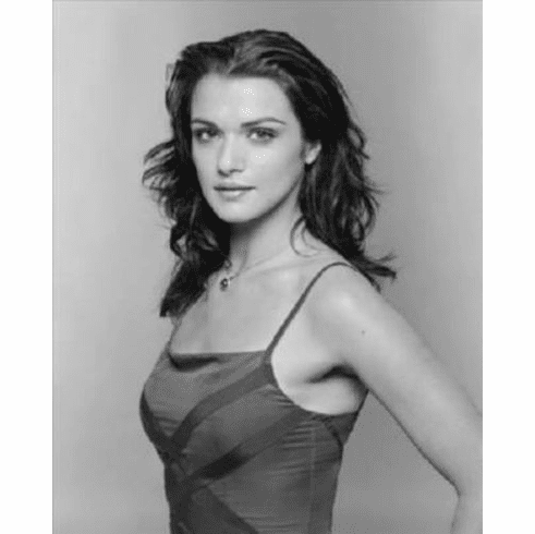"Rachel Weisz Black and White Poster 24""x36"""
