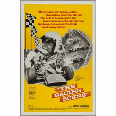 Racing Scene The James Garner 11inx17in Mini Poster