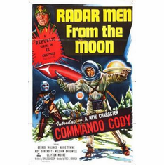 Radar Men From The Moon Movie Poster 11x17 Mini Poster