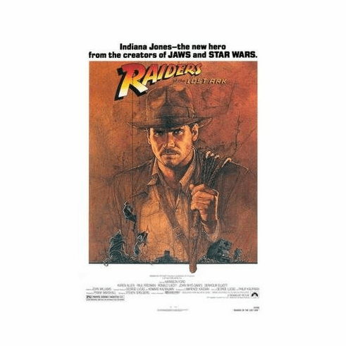 Raiders Of The Lost Ark Movie Poster 11x17 Mini Poster