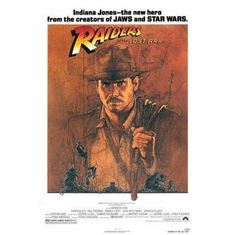 Raiders Of The Lost Ark Movie Poster 24in x36 in