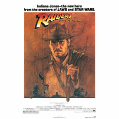 Raiders Of The Lost Ark Movie Poster 24inx36in