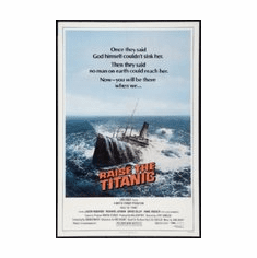 Raise The Titanic Movie Mini poster 11inx17in