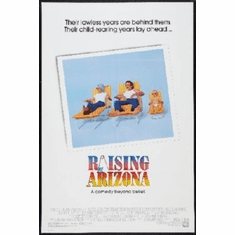 Raising Arizona Mini Movie Poster 11x17