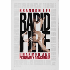 Rapid Fire Movie Poster 11x17 Mini Poster