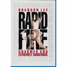 Rapid Fire Movie Poster 24inx36in