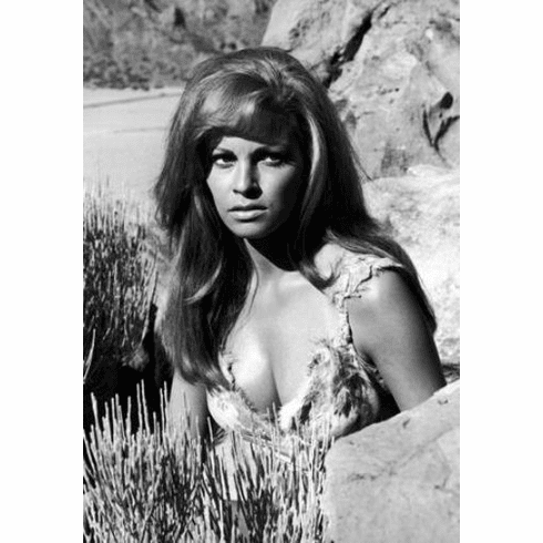 """Raquel Welch Black and White Poster 24""""x36"""""""