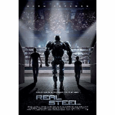 Real Steel Mini Movie Poster 11x17