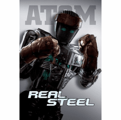 Real Steel Movie mini poster 11x17 #01