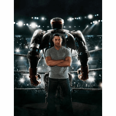 Real Steel Movie mini poster 11x17 #02
