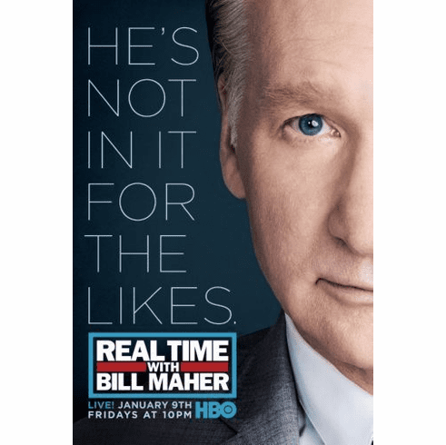 Real Time Bill Maher Mini poster 11inx17in