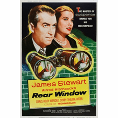 Rear Window Movie Poster 24inx36in Poster