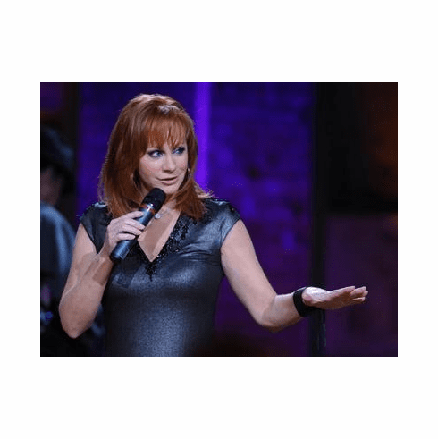 Reba Mcentire Poster Blue Dress 24in x36 in