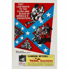 Rebel Rousers Movie Poster 11x17 Mini Poster
