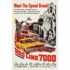 Red Line 7000 Movie Poster 11Inx17In Mini Poster