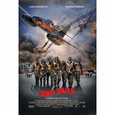 Red Tails Movie mini poster 11x17 #02