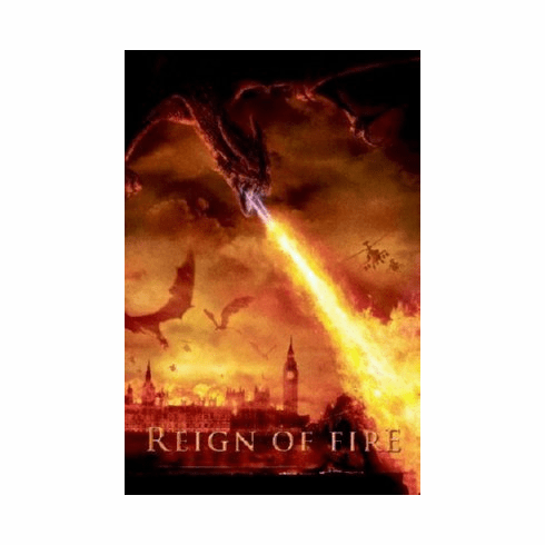 Reign Of Fire Mini Movie Poster 11x17
