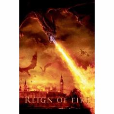 Reign Of Fire Poster 24inx36in