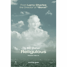 Religulous Movie Poster 24x36 bill maher