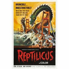 Reptilicus Movie Poster 11x17 Mini Poster