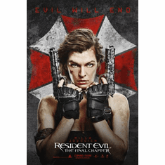Resident Evil Final Chapter Movie Poster 24x36