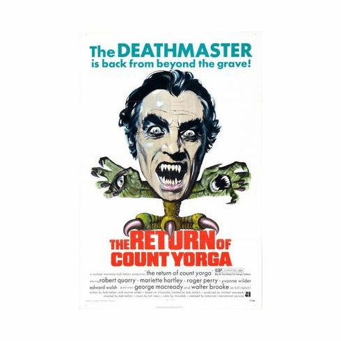 Return Of Count Yorga The Movie Poster 11x17 Mini Poster