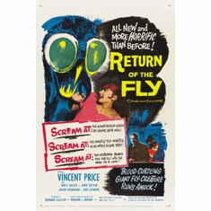 Return Of The Fly Movie mini poster 11x17 #01
