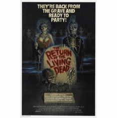 Return Of The Living Dead Movie 11inx17in Mini Poster #01